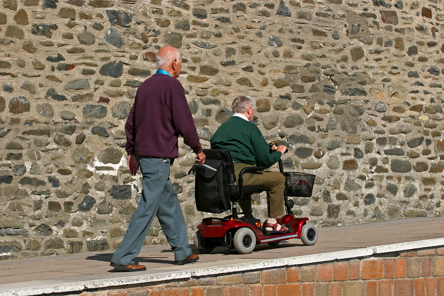 Mobility scooter image