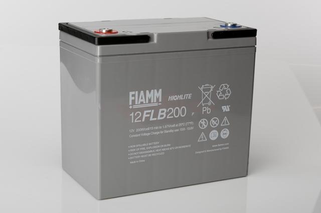 Fiamm 12flb200 12v 55ah Vrla Battery