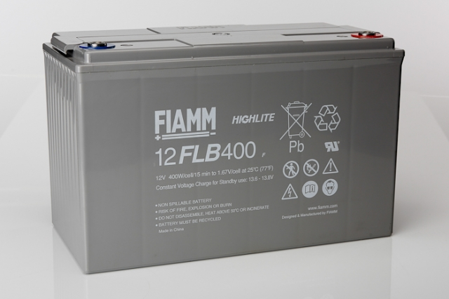 Fiamm 12flb400 12v 100ah Vrla Battery