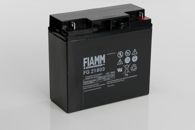 Fiamm Fg21803 12v 18ah Sealed Lead Acid Battery