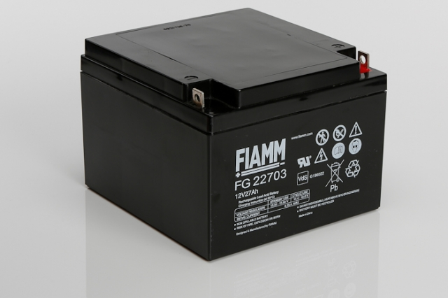 Fiamm Fg22703 12v 27ah Sealed Lead Acid Battery