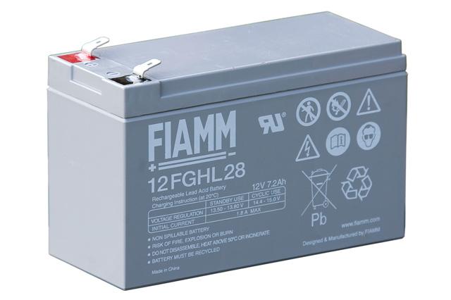 Fiamm 12fghl28 12v 7 2ah Battery
