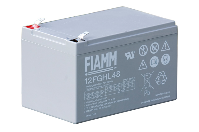 fiamm 12fghl48 12v 12ah battery