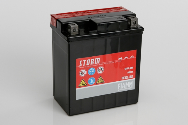 Racing Fire Suits >> Fiamm FTX7L-BS 12V 6.5Ah Motorbike Battery