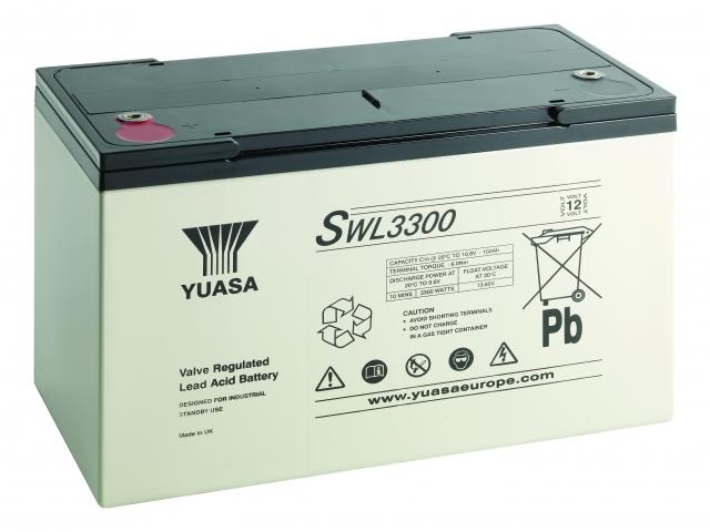 Yuasa Swl3300 Fr 12v 105ah Vrla Battery